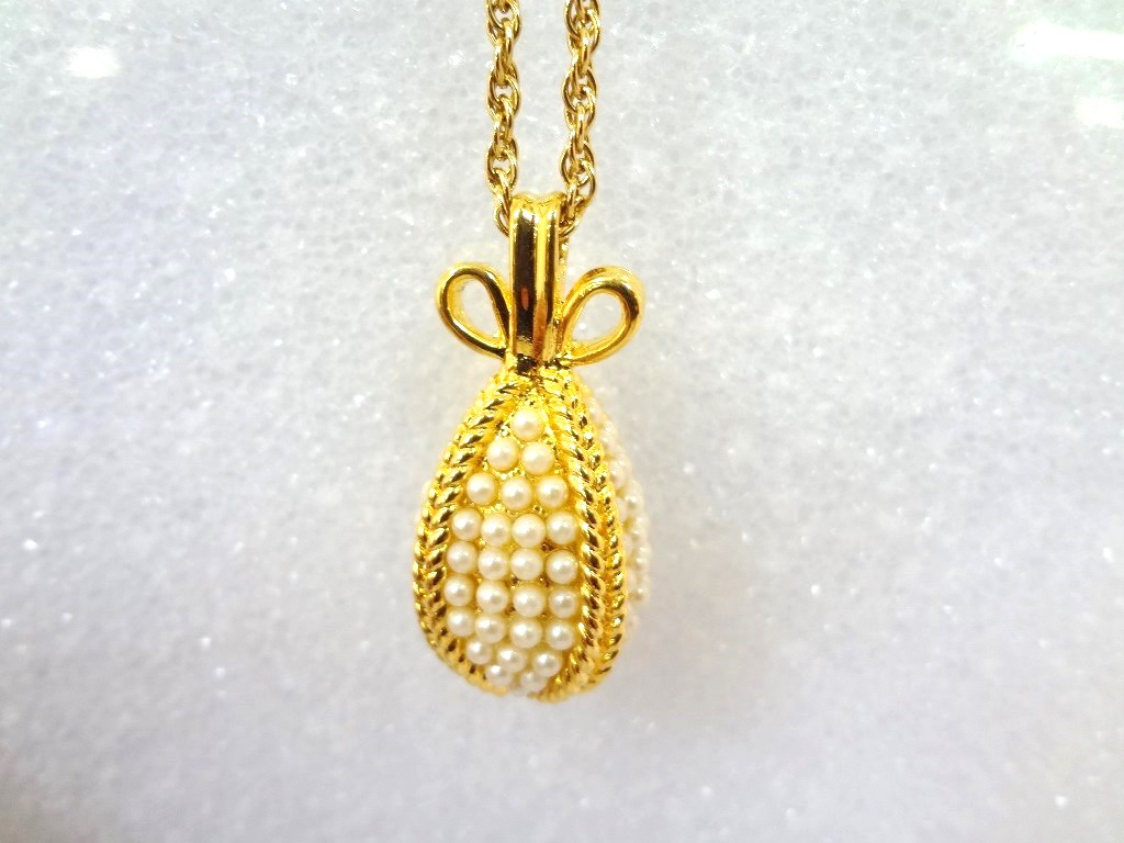 Lot detail 4 joan rivers faberge egg necklaces with egg pendants 4 joan rivers faberge egg necklaces with egg pendants aloadofball Choice Image